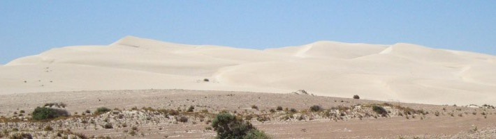 Nearby Sand Dunes